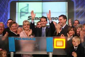 Synchronoss Celebrates Anniversary by Ringing NASDAQ Opening Bell